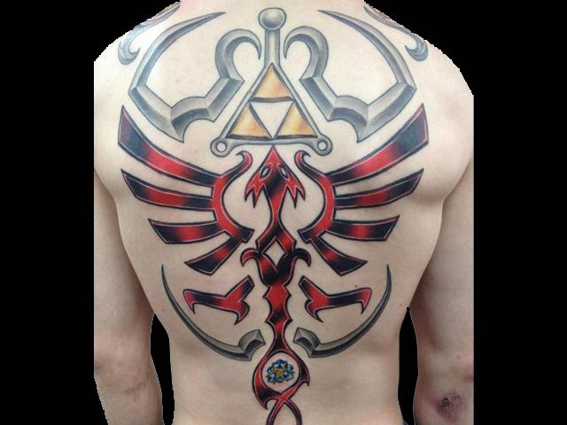 Zelda-phoenix-tattoo